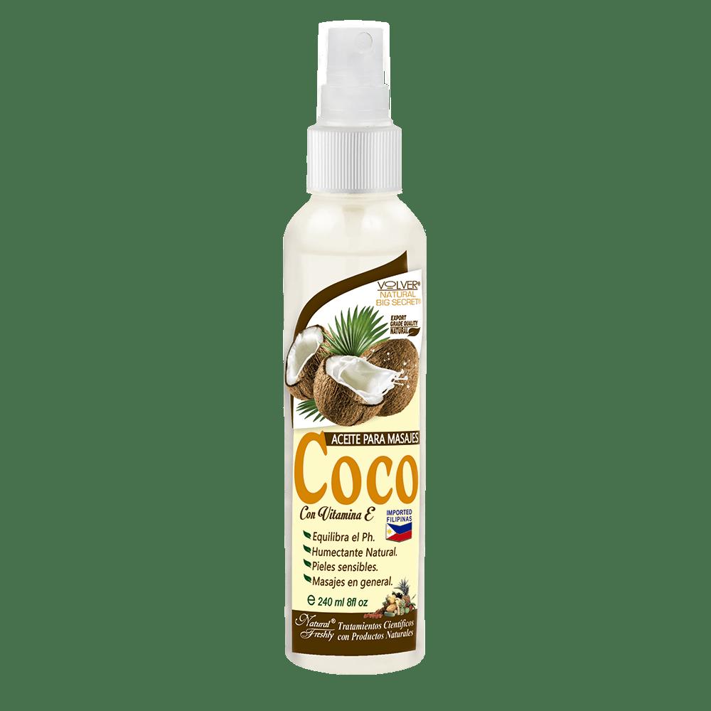 Coco aceite corporal fasco x 240 ml