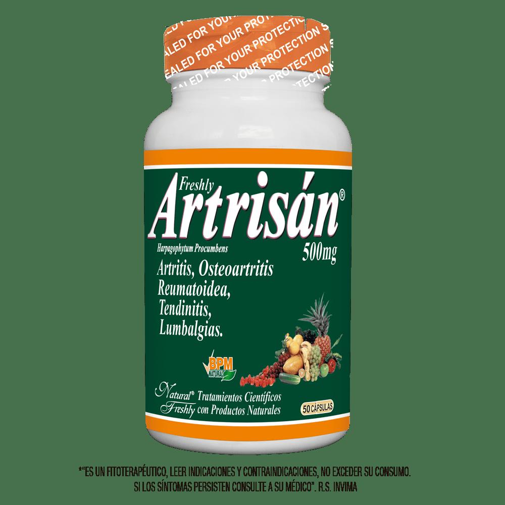 Artrisan anatiartritico analgesico x 50 cápsulas