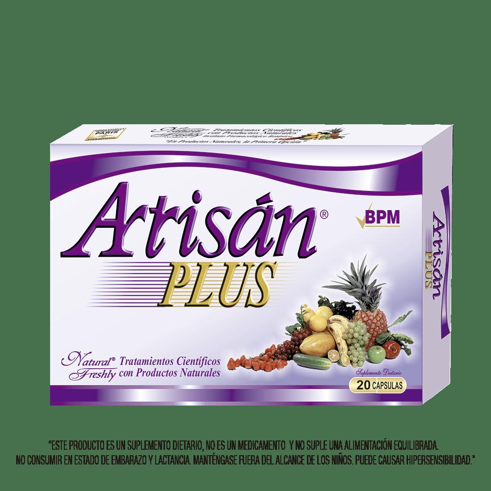 Artrisan plus blister x 20 cápsulas