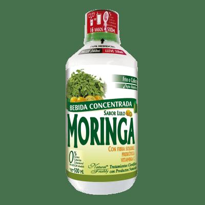 Bebida de moringa-lulo 360 ml vista frontal