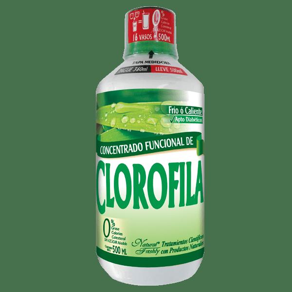 Bebida funcional de clorofila x 360 ml