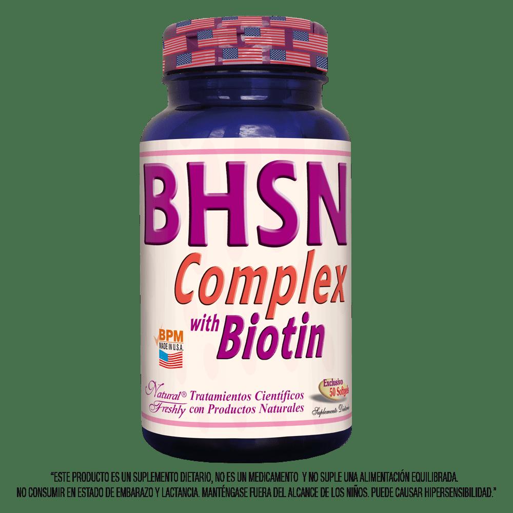 Bhsn biotina complex x 50 cápsulas