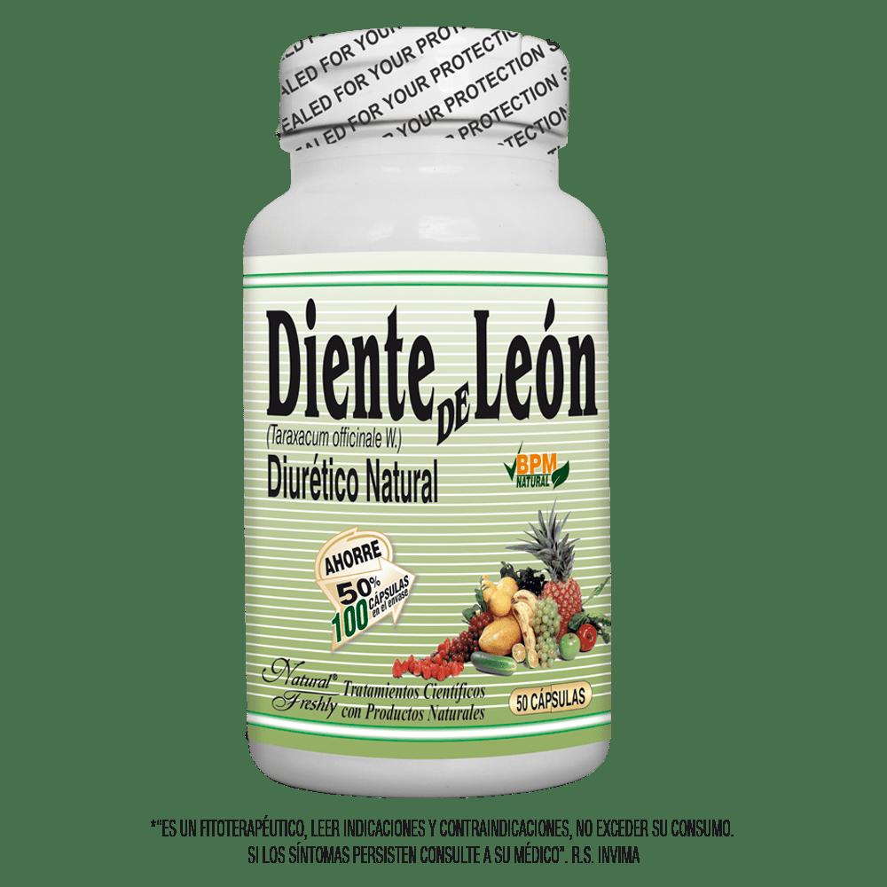 Diente de león 500 mg x 50 cápsulas