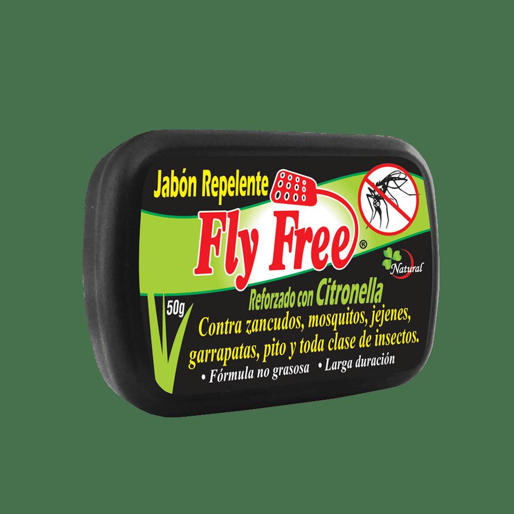 Jabon repelente reforzado con citronela
