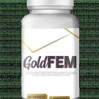 Gold Fem 60 cápsulas vista frontal