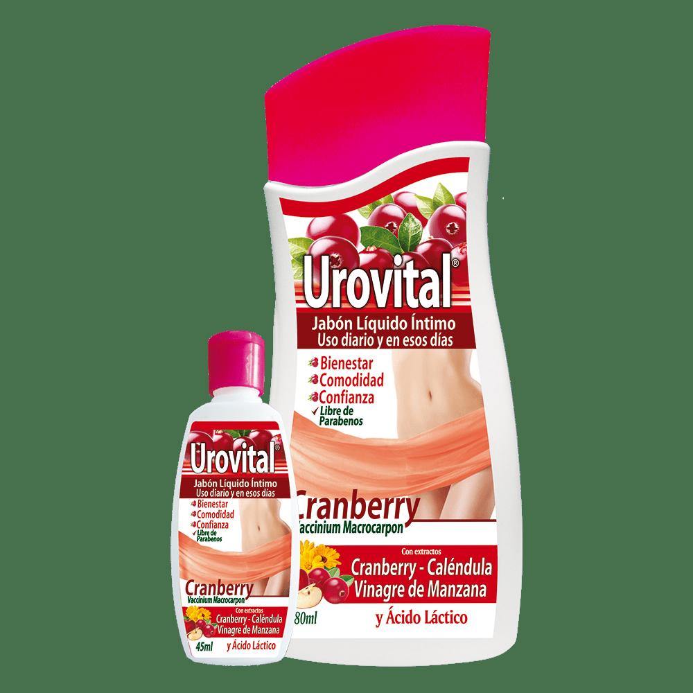 Urovital - jabón líquido intimo x 280 ml gratis 45 ml