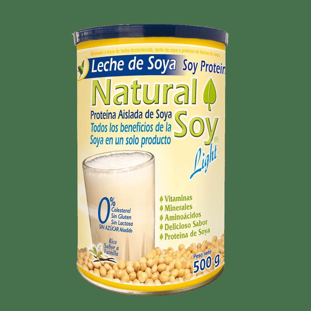 Natural soy light vainilla x 500 g