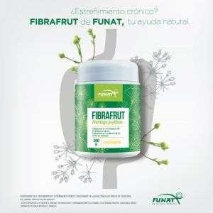 Fibrafrut 200 g con diseño para la ayuda con el estreñimiento