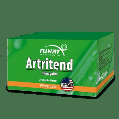 Artritend 30 softgel vista frontal