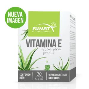 Vitamina E + Aloe vera facial vista frontal